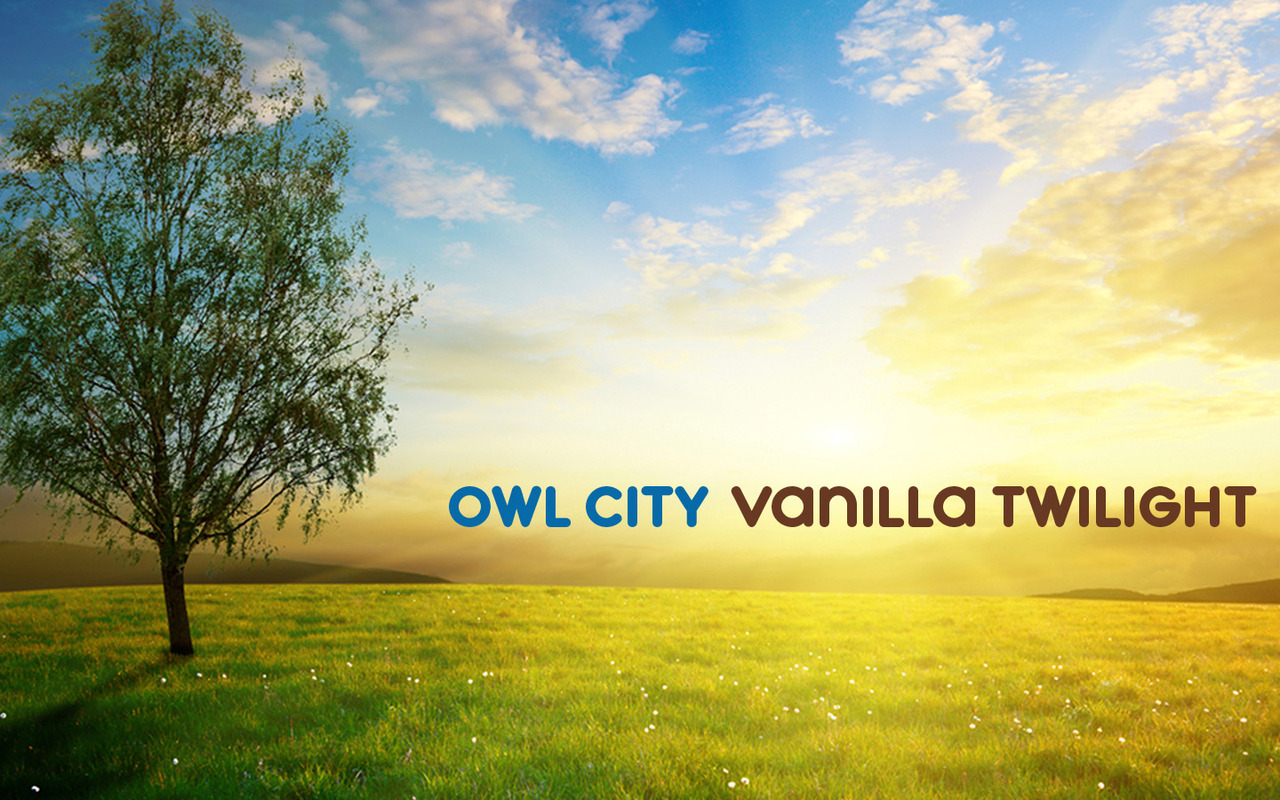 owl city - vanilla twilight jpgOwl City Vanilla Twilight Album Cover