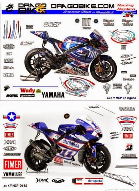 modifikasi striping motor motogp