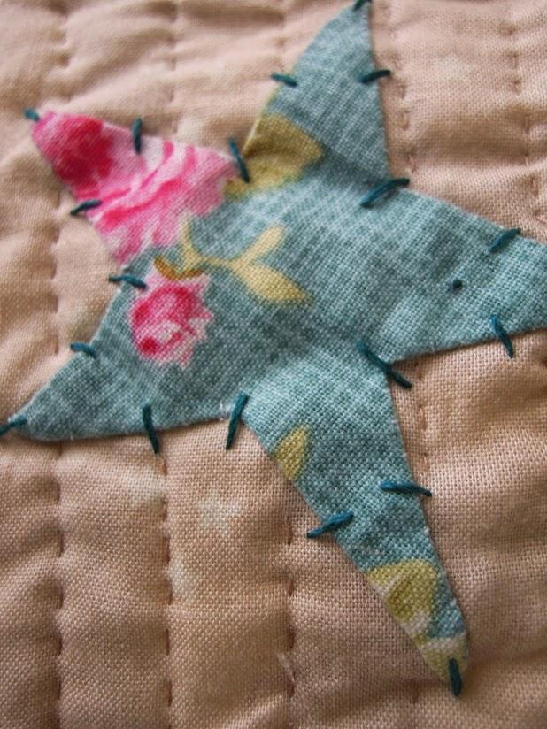 Estrella de patchwork