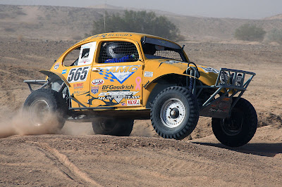 Sand Crosser Yellow Baja Bug