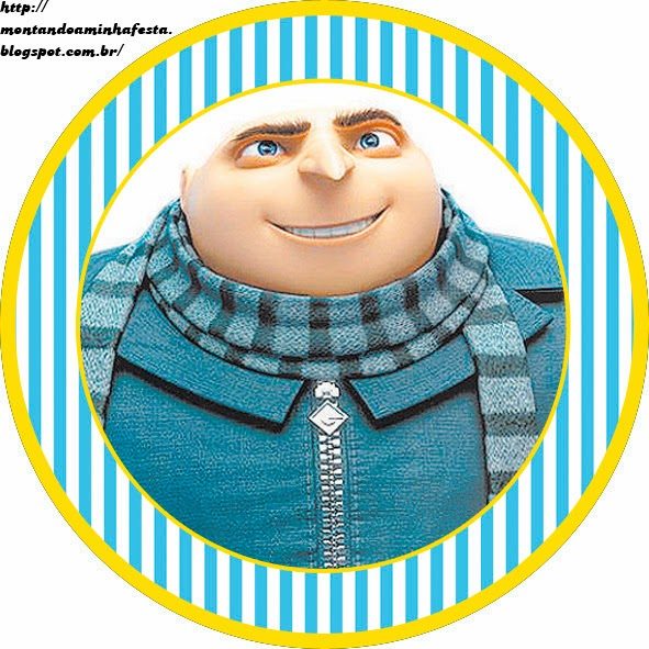 Despicable Me: Free Printable toppers.