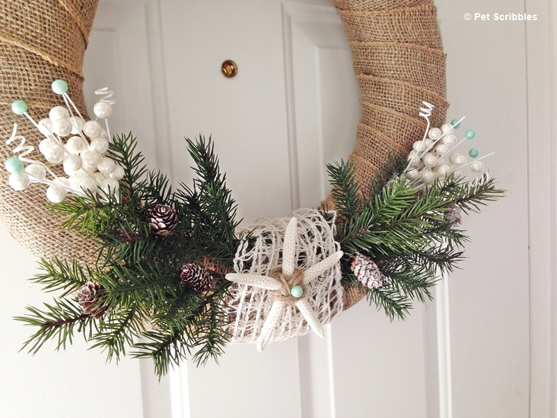 Coastal Winter Wreath