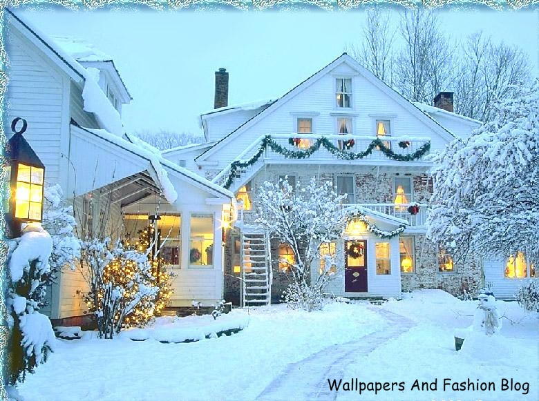 Winter scenes hd wallpapers and backgrounds wallpapers and fashion blog - Winter farm scenes wallpaper ...