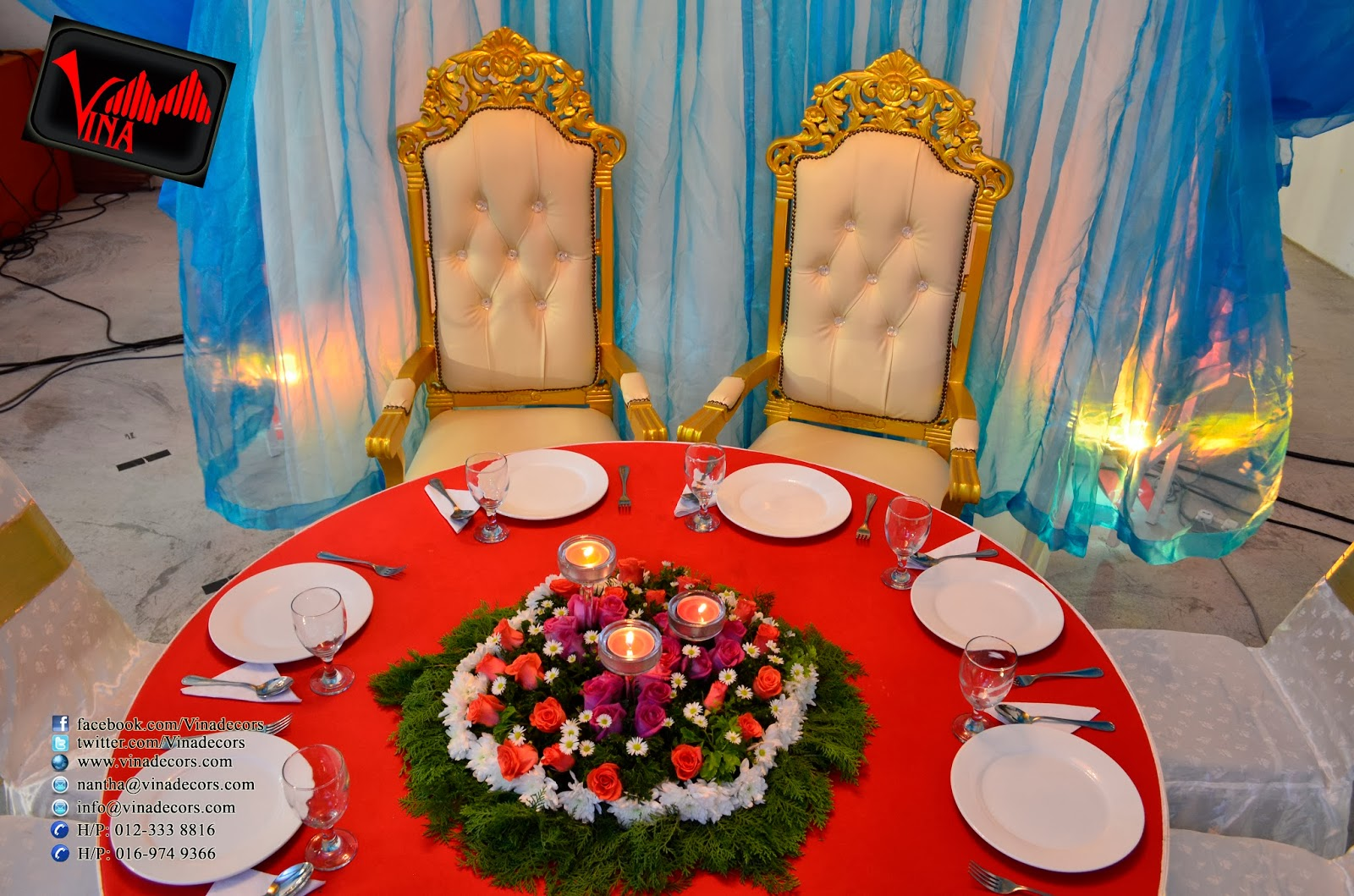 Arabian Concept Wedding and Wedding Dinner Decoration (NanthaKumar weds  Sri MahaLetchumy) at Chinese Hall (Jinjang Selatan) on Saturday 25/01/2014, 7pm.