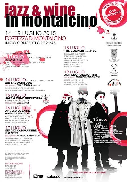 PROGRAM JA015ZZ AND WINE IN MONTALCINO July 2015