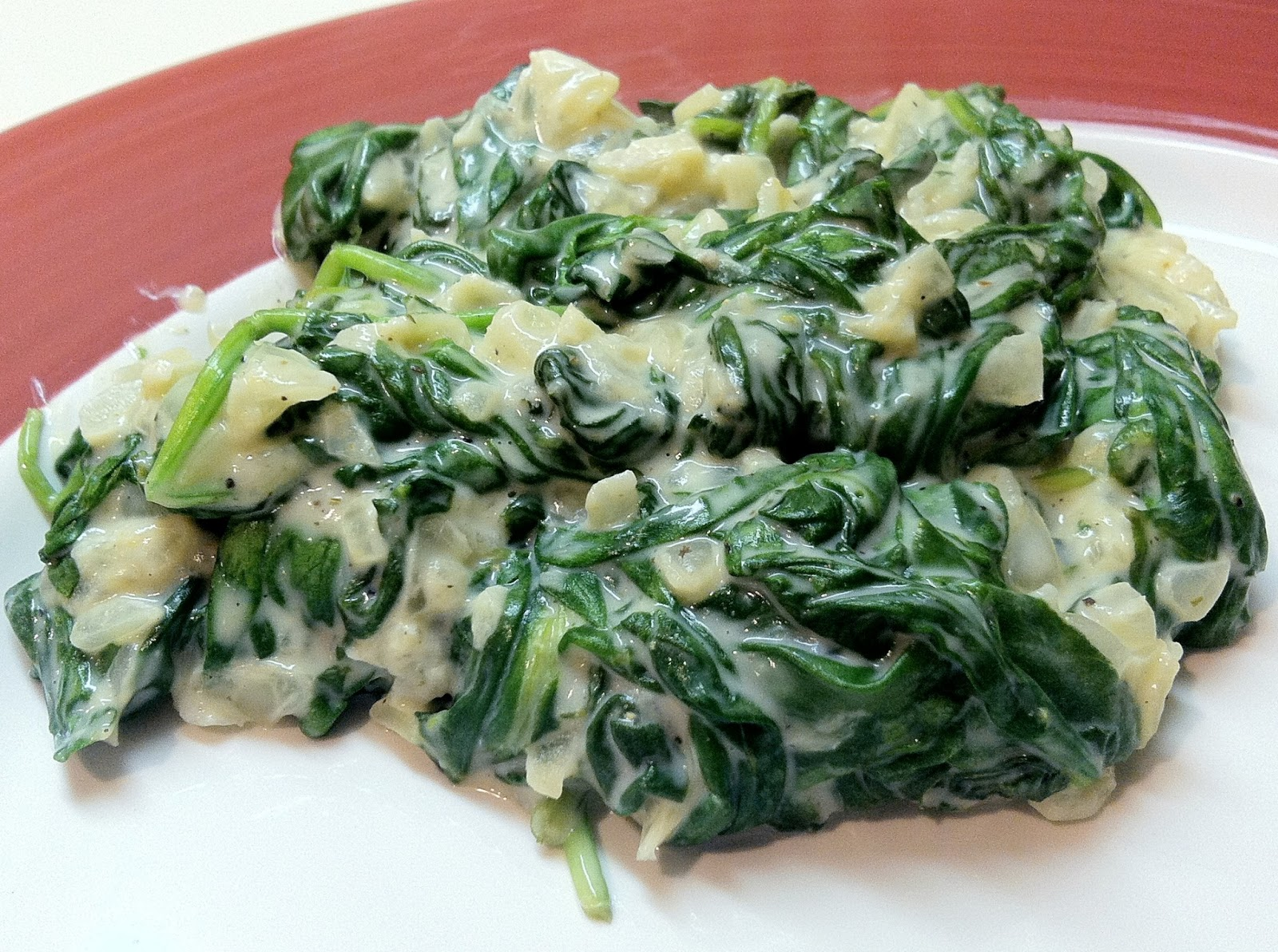 Low Carb Layla: Laughing Cow Creamed Spinach