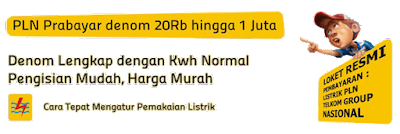 Harga Pulsa Listrik Token PLN Prabayar Termurah Server S Pulsa Bisnis Agen Pulsa Online Termurah