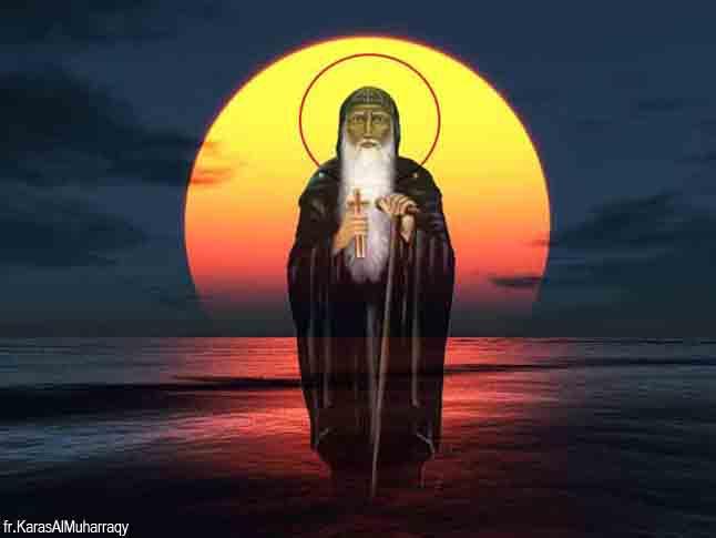 صور القديس أنبا موسى الأسود من تصميم الراهب القمص كاراس المحرقي