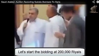 """Vazou vídeo de Leilão onde Irmandade Muçulmana recruta ''homens bombas suicidas"""""""