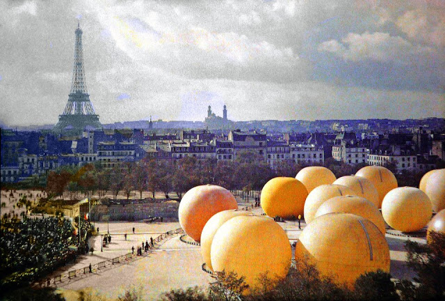 the world fair, paris, 1909