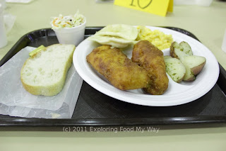 Fried Fish Dinner