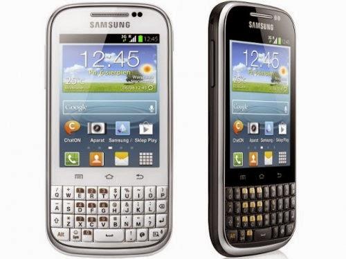 Spesifikasi Samsung Galaxy Chat B5330 Dan Harganya