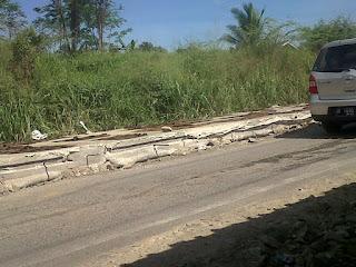 Betonisasi Jalan Raya