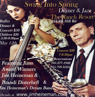 Swing Into Spring Jim Heineman Dream Band Poster