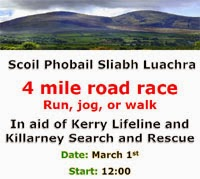 New 4 mile race in Rathmore, Co.Kerry...Sat 1st March