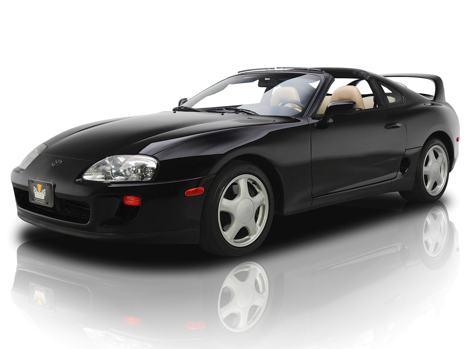 The 2001 toyota supra from the movie the fast and the furious jza80