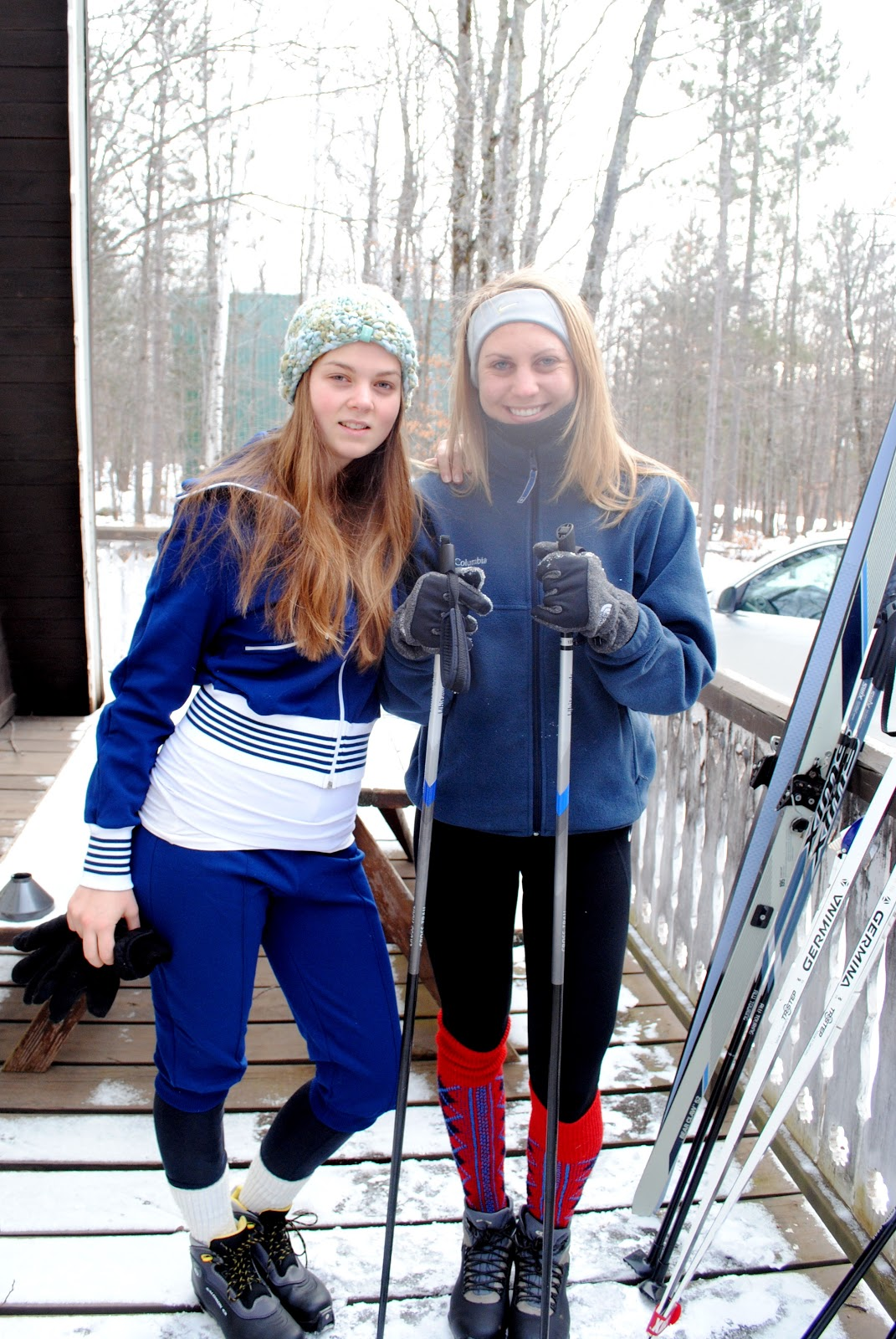 cross country ski outfit