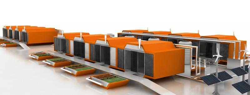 Construalia viviendas prefabricadas modulares para - Modulos prefabricados para viviendas ...