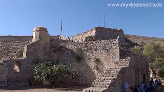 Inside fortress of Palamidi