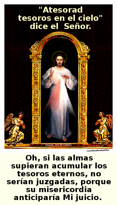 atesorar, divina misericordia