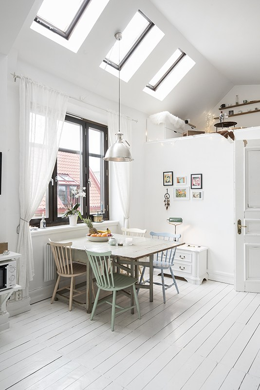 This Cozy, Cute And Tiny Apartment Is Just 45 Square Meters Large And It  Contains Everything You Need.