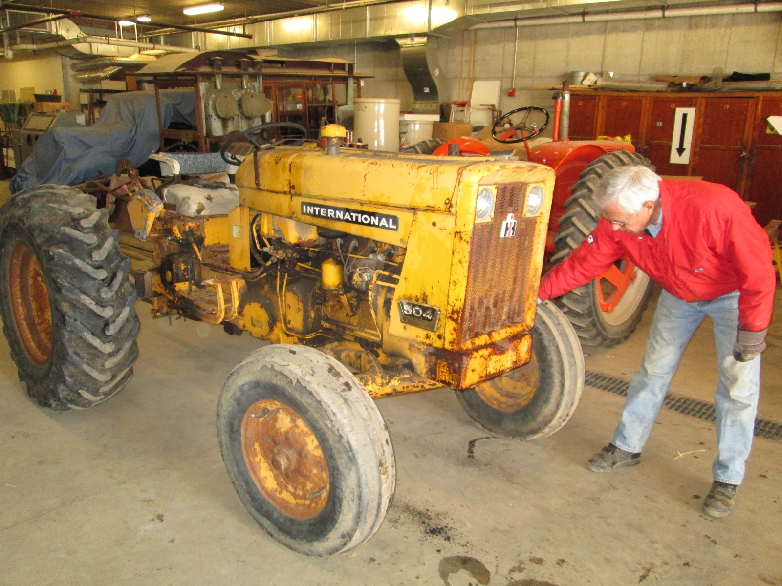 Tractor Restoration Projects : Wagner feed spring tractor restoration project