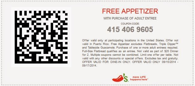 Current chilis coupons