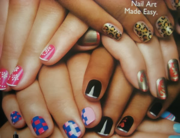 Never Go To The Nail Salon Again!! 25 Easy To Do Creative Nail Designs