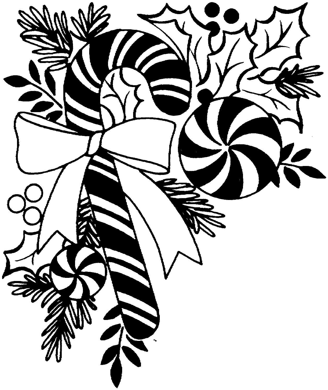Black amp White Christmas Ornament Wallpaper Vector