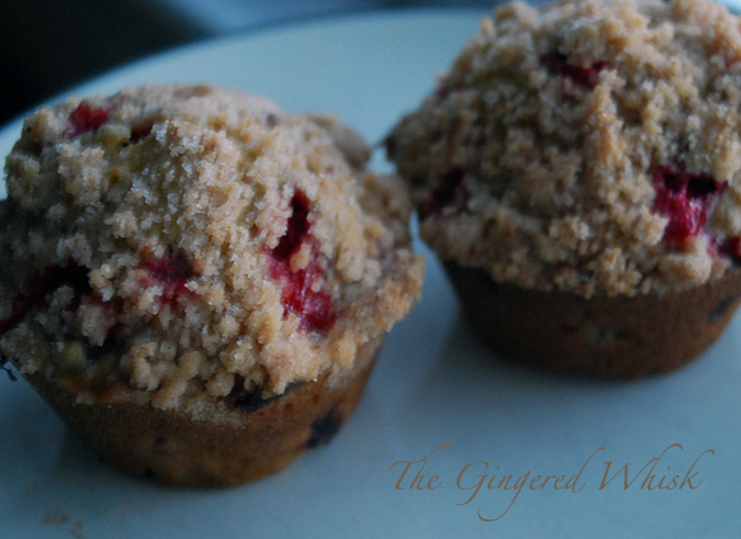 Cranberry Orange Muffin - The Gingered Whisk