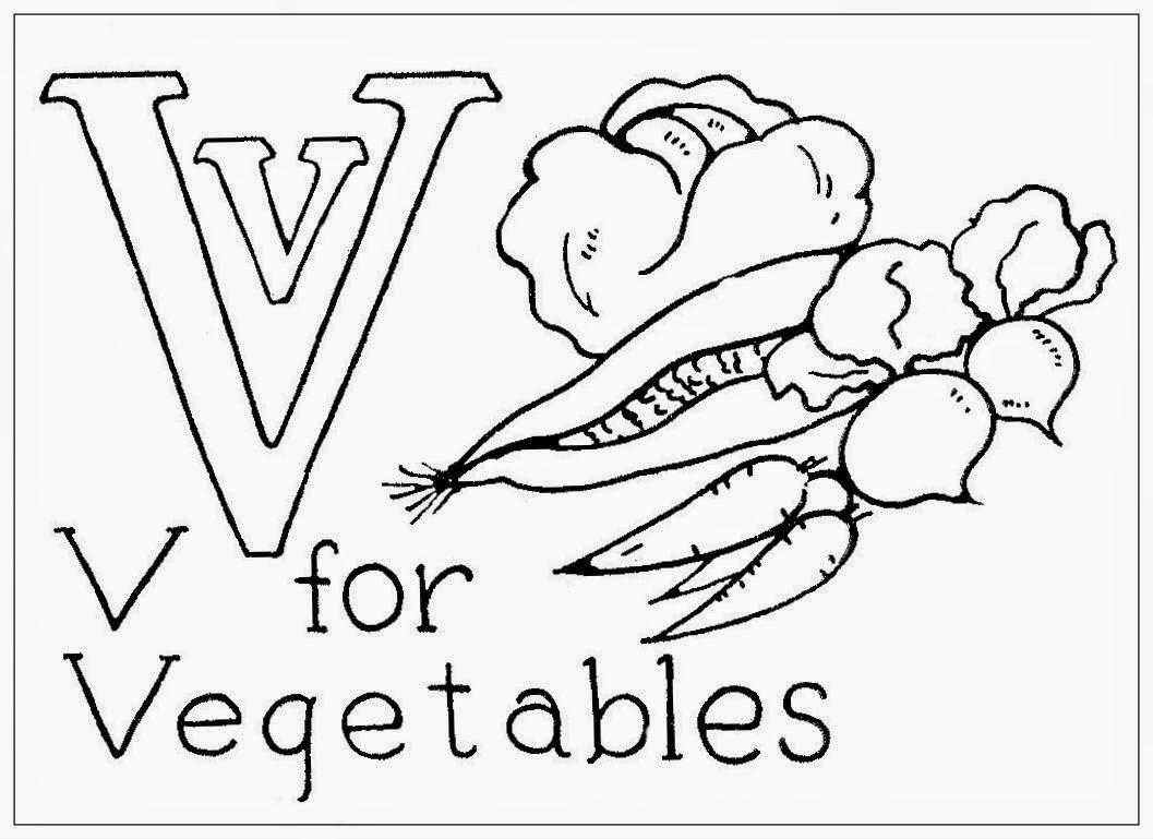 V Is For Vegetables Hudson's Holidays - De...