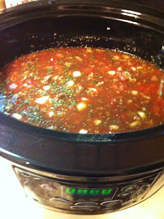 Crock Pot Lasagna Soup