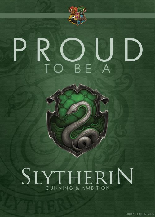 #SlytherinPride