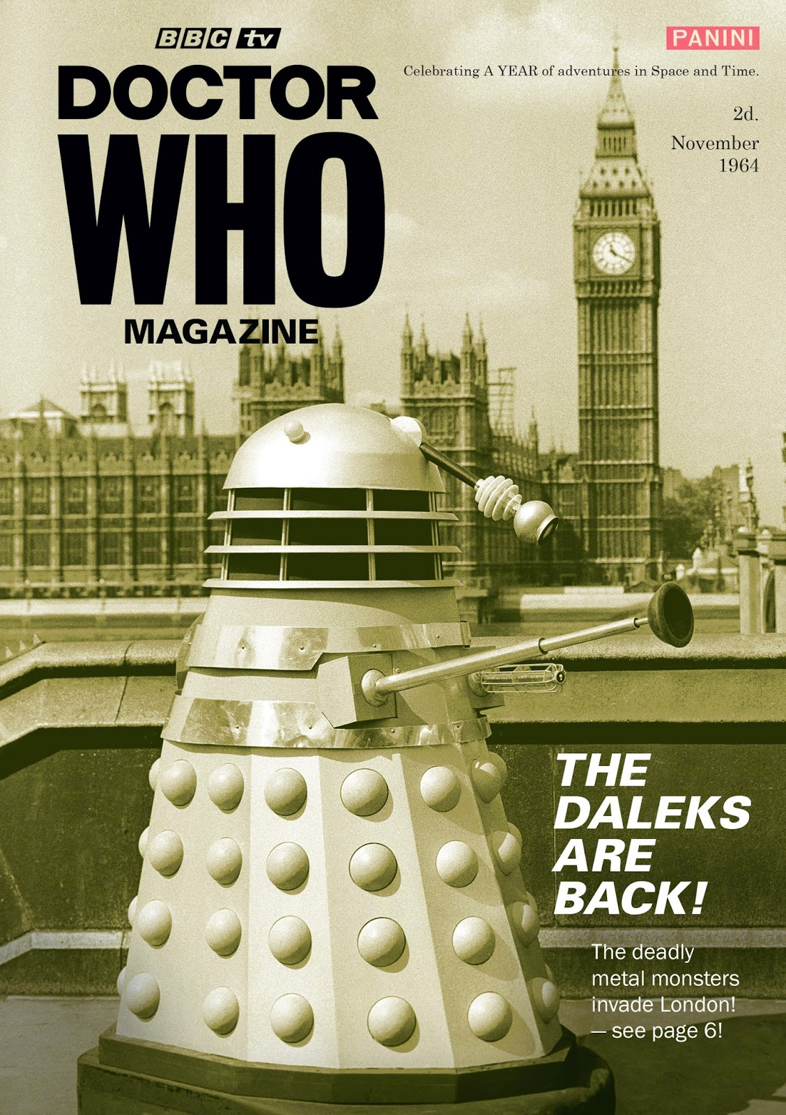 Blogtor who doctor who magazine 50th anniversary issue for Anniversary magazine