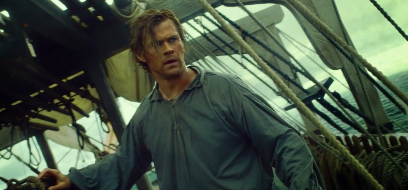 Chris Hemsworth no primeiro trailer de O Coração do Mar, novo filme de Ron Howard