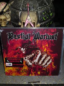 BESTIAL WARLUST''satan's fist''