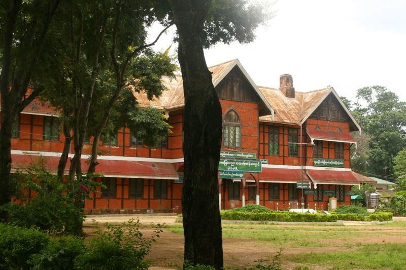 number 4 high school, Pyin Oo Lwin
