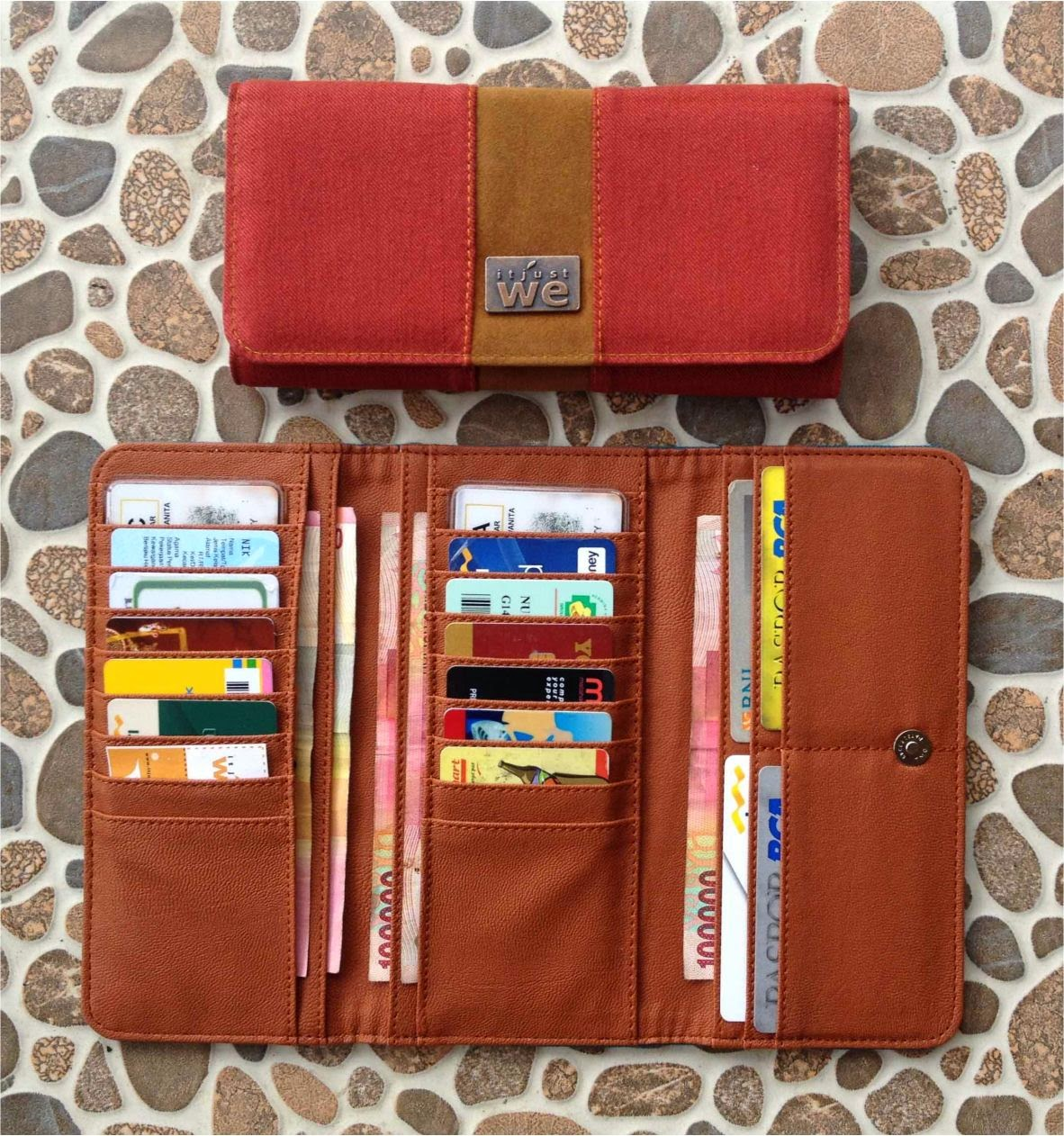 inner dompet kartu dompet jeans terbaru 2015