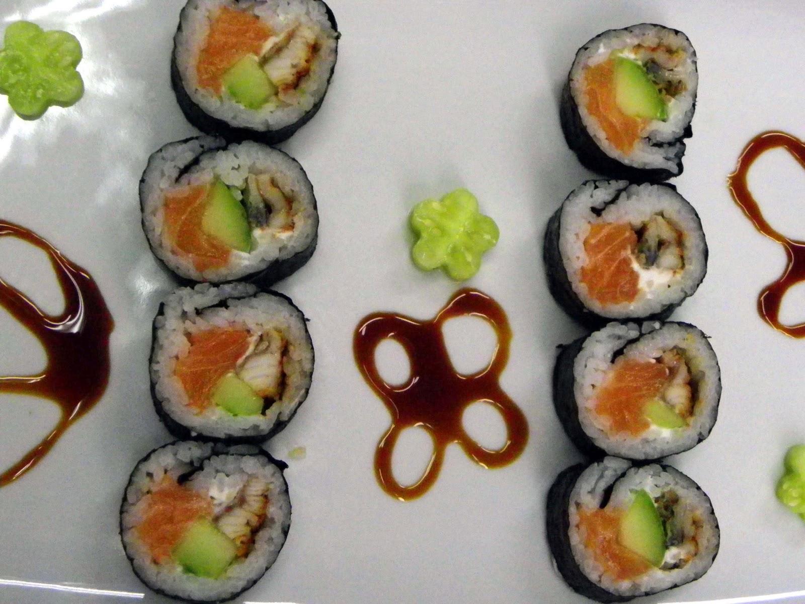 Gastronom a los naranjos como decorar los platos de sushi - Como decorar platos ...