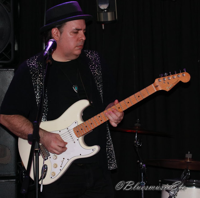 Pat with white Strat