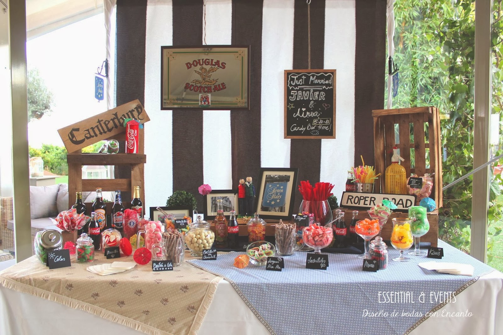 Candy Bar Buffet De Chucherias Ideas Originales Para Bodas
