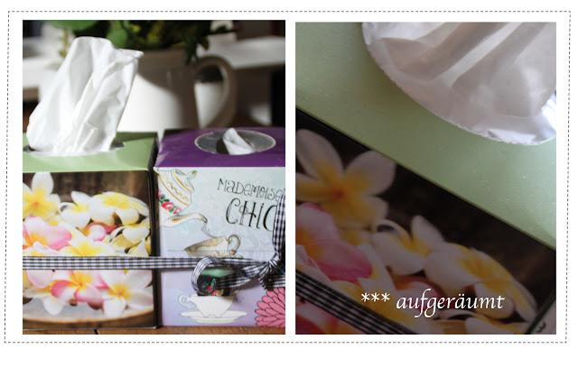 Kleenexbox für Taschentücher