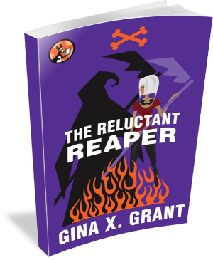 Book Cover: The Reluctant Reaper by Gina X Grant
