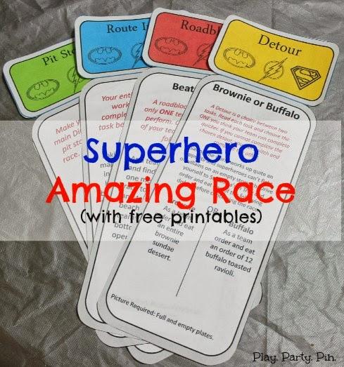 Amazing Race Clues