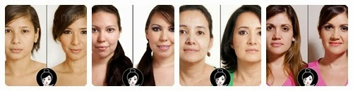recopilacion de maquillajes antes y despues
