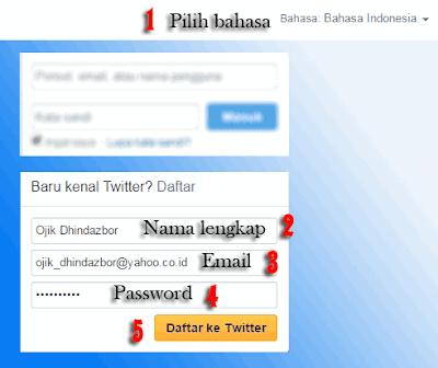 Cara Membuat Akun Twitter di Komputer dan Terverifikasi