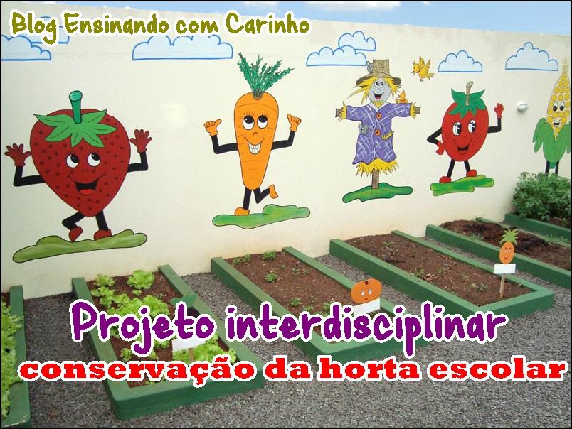 Excepcional Ensinando com Carinho: Projeto de conservação da horta escolar EI36