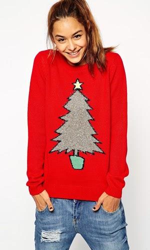 jerseys de Asos mujer para Navidad