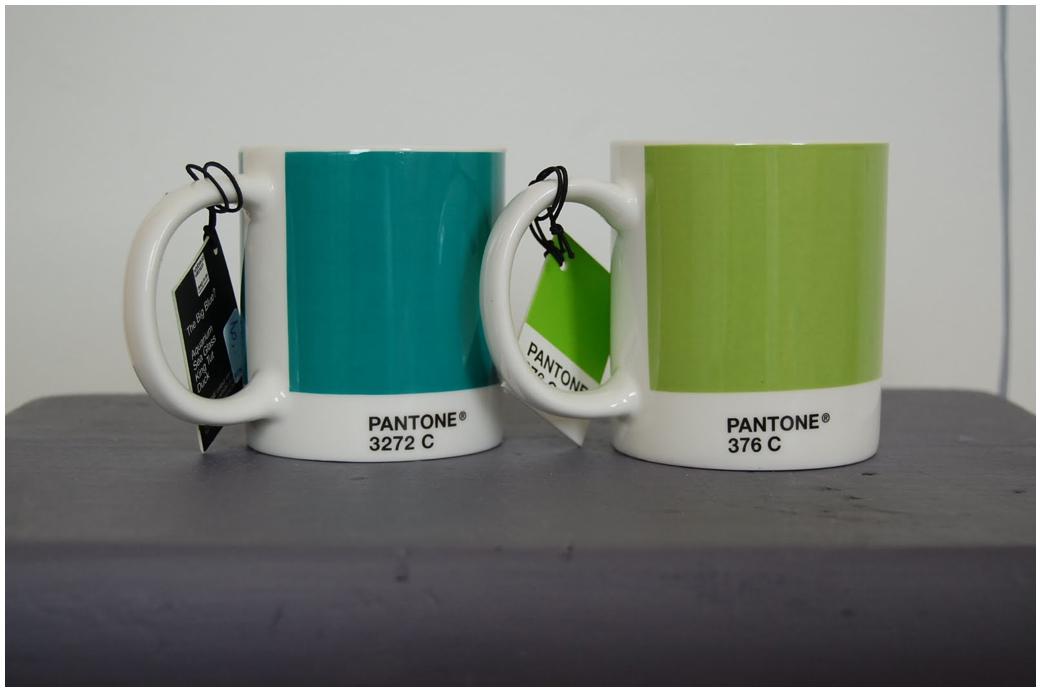 Pantone Mugs 2011 Pantone Mugs