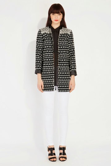 oasis monochrome coat